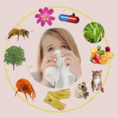 Аллергены вокруг нас