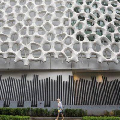 Здания-фильтры, снижающие загрязнение воздуха