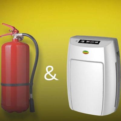 Пожары и воздухоочиститель